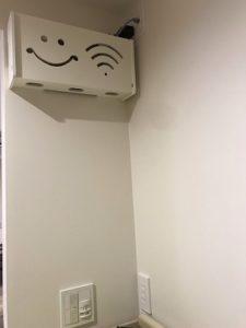 一条工務店 無線LAN 壁掛け