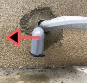 ドレン管 除湿 全館冷房 DIY